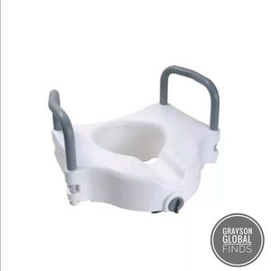 Other - NEW Raised Toilet Seat with Removable Arms